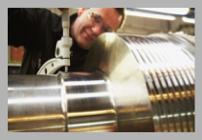 sprinks steel shaft embossing roll